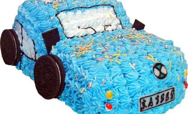 【法兰甜】宝马汽车蛋糕