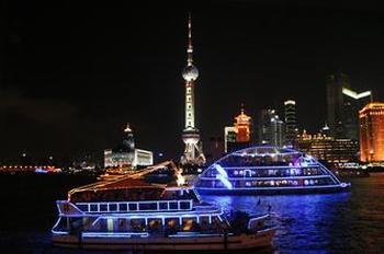 【外滩】黄浦江游览(十六铺码头)夜游船票(成人票)-美团