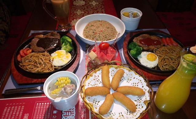 :长沙今日团购:【茶花荟中西餐厅】双人西餐,提供免费WiFi