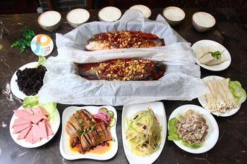 【西安】卧龙烤鱼餐厅-美团