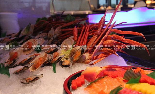 千岛湖梅地亚君澜度假酒店自助晚餐,提供免费WiFi