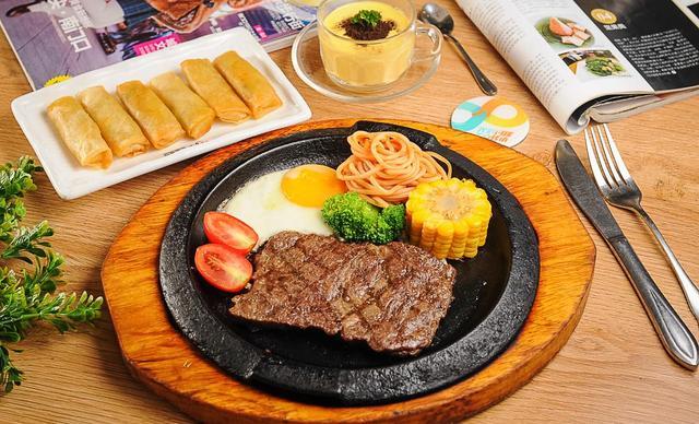 【金芒果中西餐厅】西点单人餐,提供免费WiFi