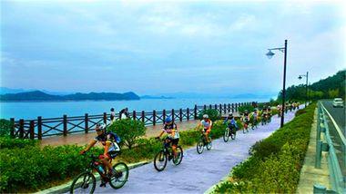 【淳安县】千岛湖1小时单车(成人票)-美团