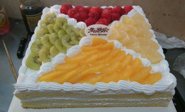 嘉好蛋糕水果四季,仅售78元!价值118元的水果四季1个,约10英寸,