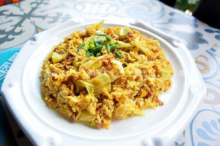 咖喱鸡扒饭(25元/份)  咖喱猪扒饭(25元/列)  咖喱海鲜饭(28元/份)图片