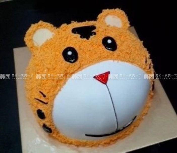 美食团购 蛋糕 龙泉驿区 十陵镇 益佳蛋糕坊   爱心兔 可爱的兔子 小