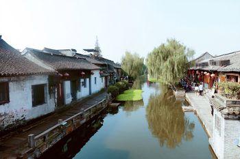 【绍兴出发】西塘古镇旅游景区纯玩1日跟团游*如画江南-美团