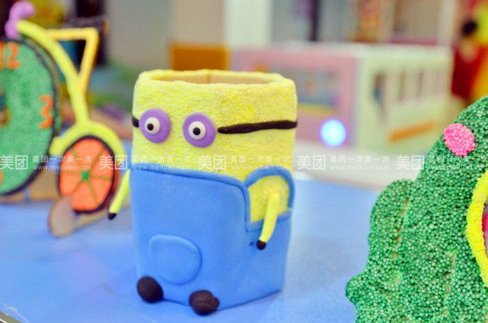 【绵阳手绘屋儿童乐园团购】手绘屋儿童乐园手工陶艺