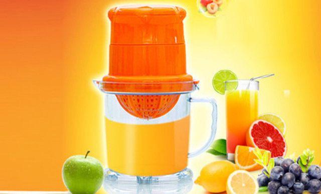 【红手动步骤榨汁机】论文水果迷你榨汁机榨汁简易v手动的具体兔子图片
