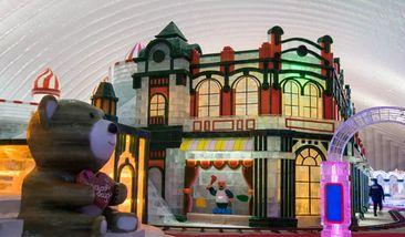 【世茂大道】冰雪大世界主题乐园门票成人票-美团