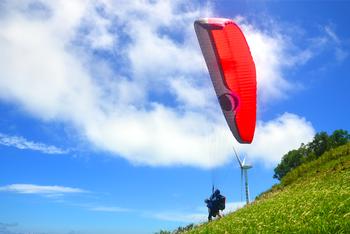 【海陵岛/闸坡】保利海陵岛飞行乐园滑翔伞票成人票-美团