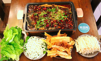 【郑州等】火盆景火锅鱼-美团