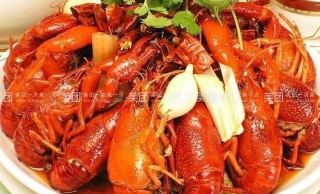 :长沙今日团购:【忆口香】香辣卤虾1斤,提供免费WiFi