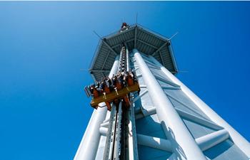 【客村/赤岗】广州塔450米塔顶游乐套票(含极速云霄跳楼机+塔顶户外观景台+E区)(成人票)-美团