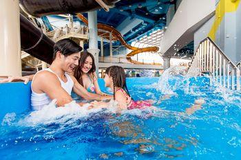 【横琴新区】横琴湾水世界+横琴酒店自助午餐券成人票-美团