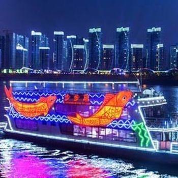 【高新区】步步高游船(东堤旅游码头)19:30船票成人票-美团