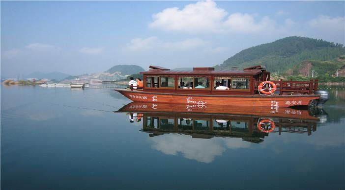 【北京千岛湖宋家渔村森林过山船团购】金峰漂流九龙