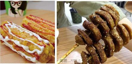 【郑州】武汉户部巷烤面筋-脆皮玉米店-美团