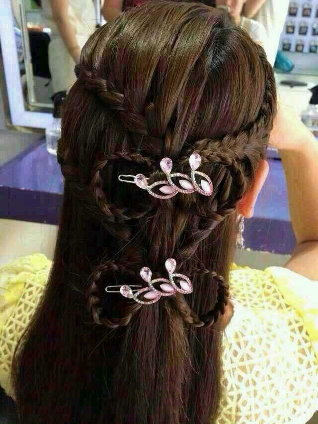 2015女生流行美最新发型图片