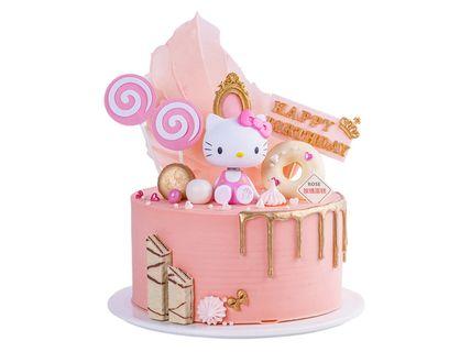 价值298元的创意网红抖音同款加高生日蛋糕儿童蛋糕送闺蜜送儿童1个