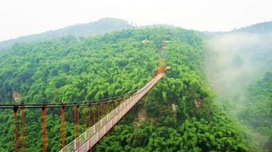 【平乐古镇】川西竹海峡谷自然景区(金鸡谷)景区门票成人票-美团
