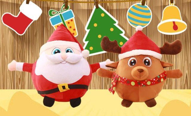 [全国美团团购]【圣诞老人q版】圣诞节礼物
