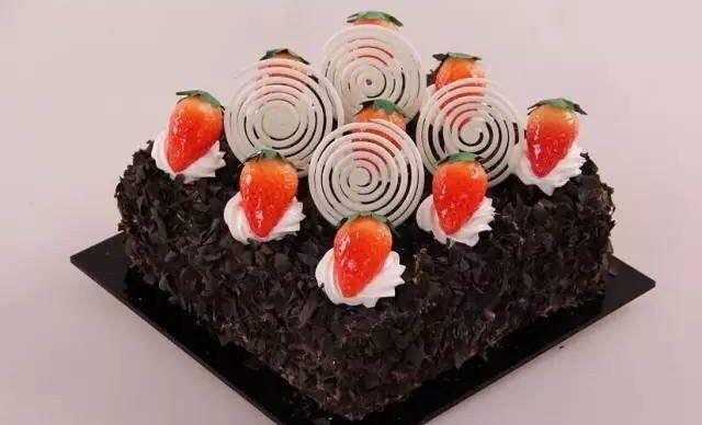 :长沙今日团购:【爱可西饼】8寸巧克力夹心蛋糕1,约8英寸,