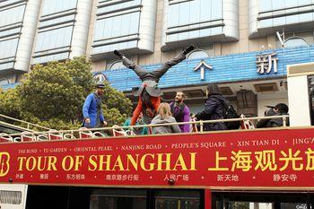 【全国】上海BUS TOUR旅游观光巴士24小时+黄浦江游览(十六铺码头)船票成人票-美团
