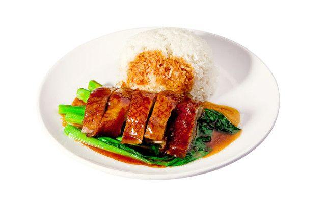 【面牵一线】港式福记烧鸭饭1份,提供免费wifi,滋味鲜