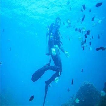 【海棠区】蜈支洲岛半潜观光船成人票-美团
