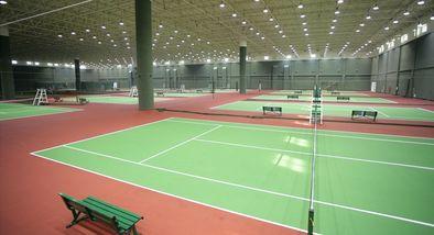 【小汤山镇】九华山庄网球馆室内网球体验劵(成人票)-美团