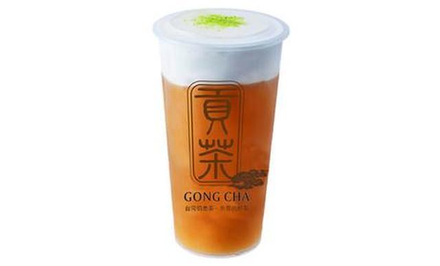 :长沙今日团购:【乐汀贡茶】招牌奶盖双人畅饮,提供免费WiFi