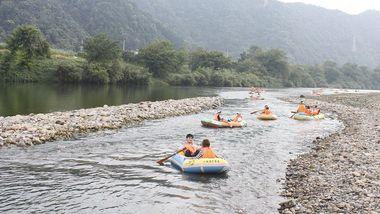 【石台县】秋浦河景区丛林穿越门票成人票-美团