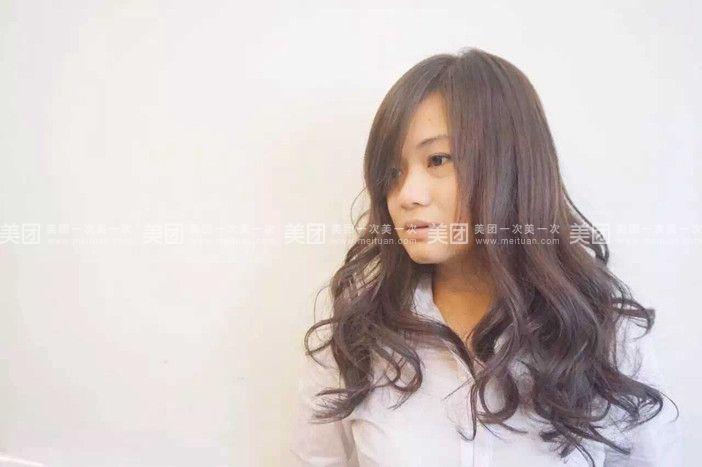 香港复古发型卷发女分享展示图片