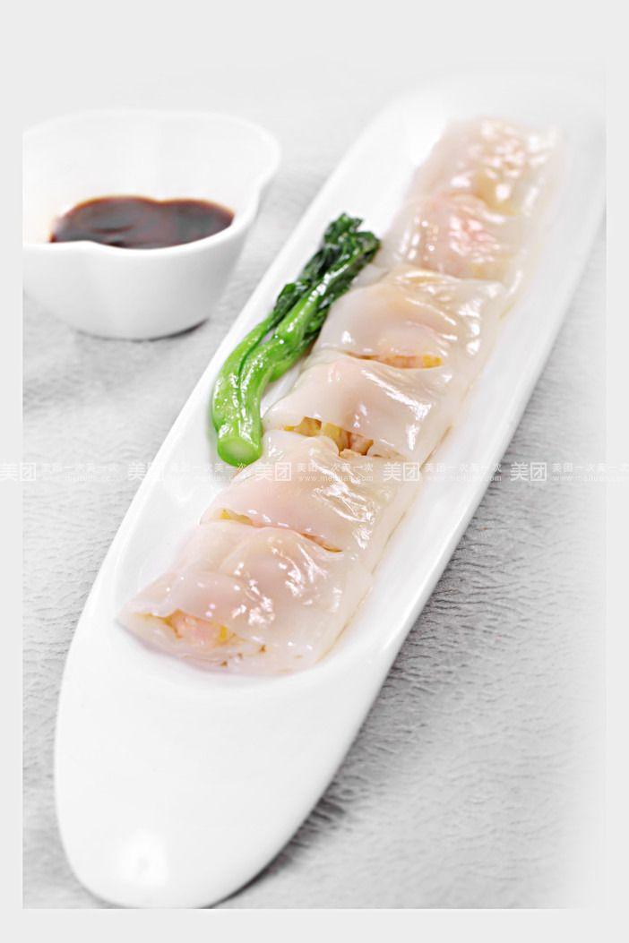 韭黄鲜虾肠粉