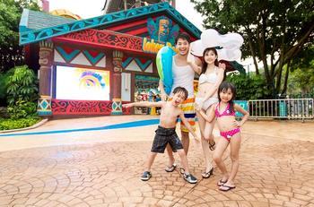 【其它】广州长隆水上乐园+长隆飞鸟乐园儿童长者票-美团