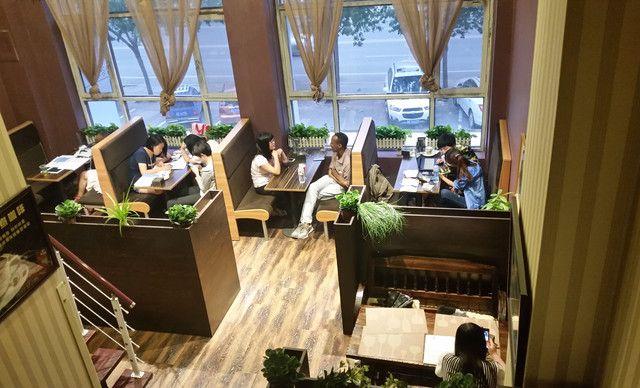 【黑铁行动咖啡馆】休闲商务双人套餐,包间免费,提供免费wifi