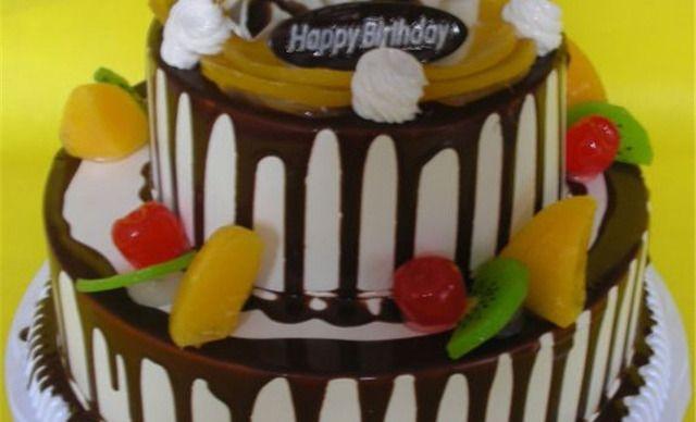 价值288元的14英寸两层欧式蛋糕1个,约26英寸,圆形图片