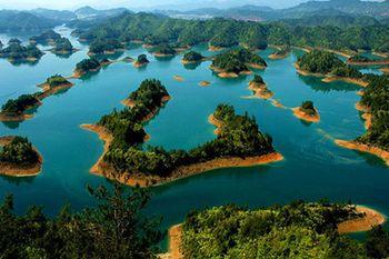 【杭州出发】千岛湖、龙山岛、锁岛等1日跟团游*世界上岛屿最多的湖-美团