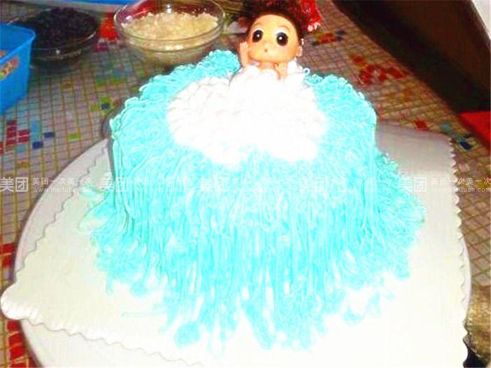 泡沫纸手工蛋糕图片