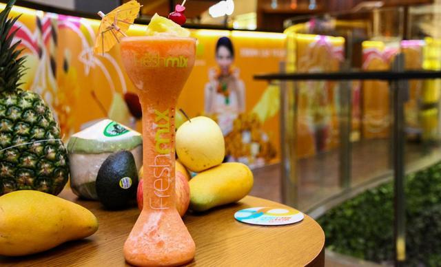:长沙今日团购:【fresh mix鲜果优】饮品4选1,建议单人使用,提供免费WiFi