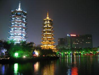 【象山区】两江四湖文昌桥码头普通船夜游船票成人票-美团