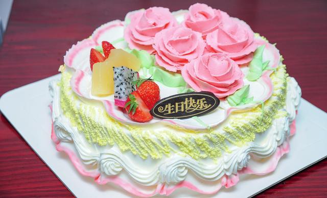 :长沙今日团购:【澳麦多伦】8寸奶油蛋糕1个,约8英寸,圆