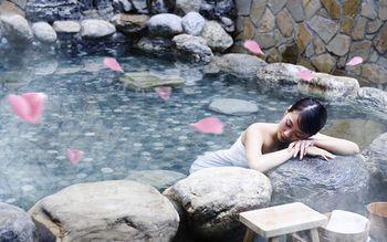 【宜良县】汤池热水河温泉门票+自助餐(家庭票2大1小)-美团