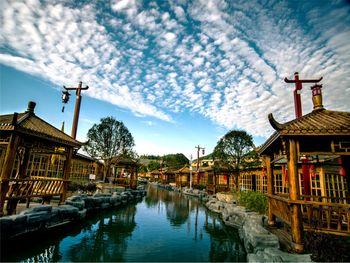 【普定县】秀水景区水上乐园脚踏船门票成人票-美团