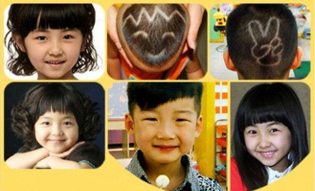 星期六专业儿童理发