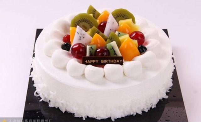 【好运来糕点房】欧式水果蛋糕1个