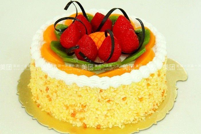 美食团购 甜点饮品 麦田蛋糕   甜蜜思念规格:约8 英寸 1,圆形 柠檬之