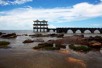 【南宁出发】蝴蝶岛、簕山古渔村纯玩1日跟团游*海滩直通车-美团