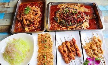 【鞍山】佳园重庆烤鱼-美团